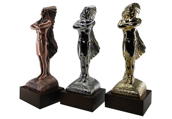 Prestigious point-of-purchase advertising award. This industry award is custom crafted in cast metal and plated in three finishes.