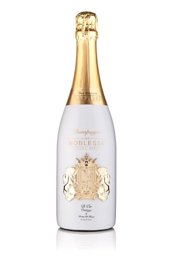 24Kt Gold Plated Medallion Noblesse Champagne