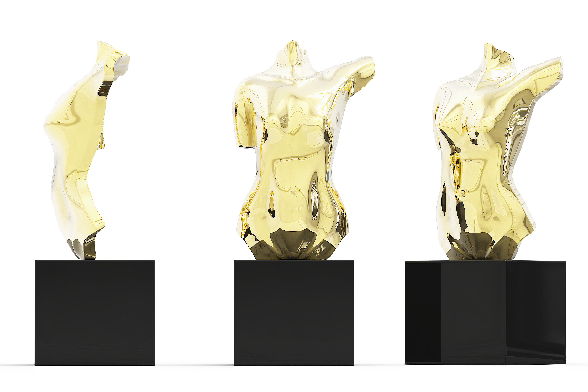 Gold Body Trophy